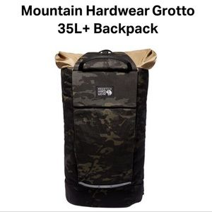 Mountain Hardwear Grotto 35L+ Backpack Camouflage Print NWT